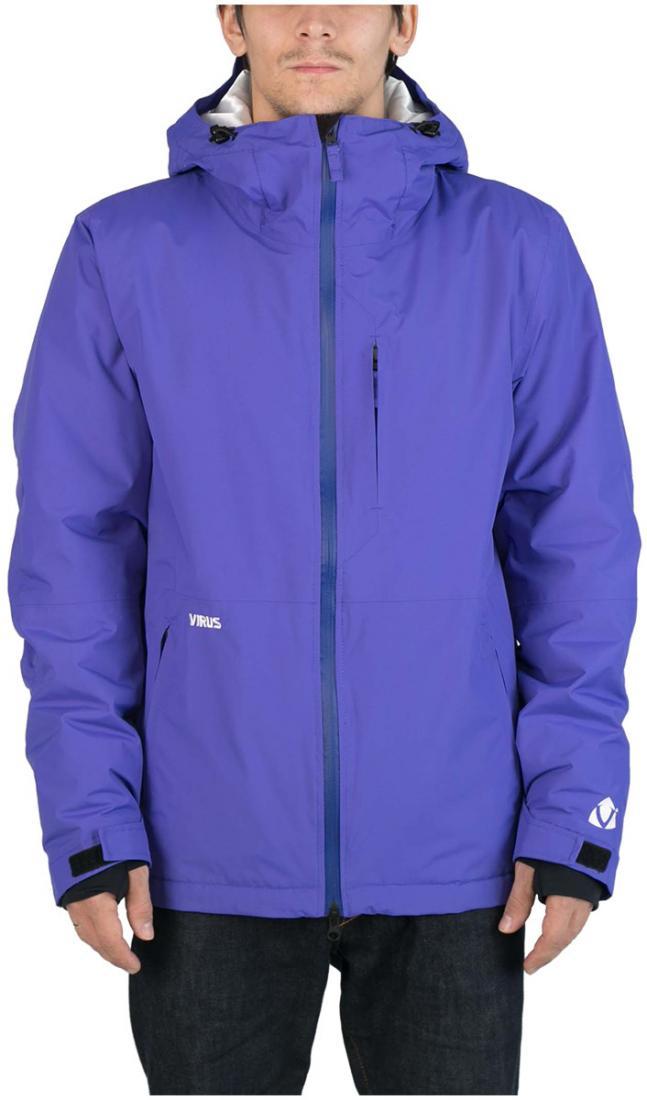 Куртка утепленная CyrusКуртки<br><br>Максимально лаконичная утепленная куртка для увлеченных сноубордистов. Мы хотели создать вещь, которая станет идеальной в соотношении...<br><br>Цвет: Синий<br>Размер: 56