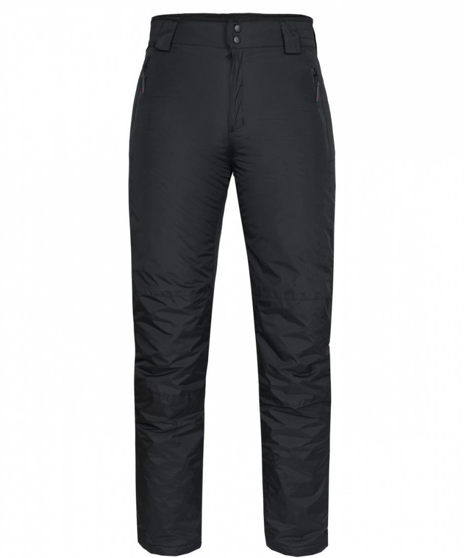 Брюки утепленные Husky II ЖенскиеБрюки, штаны<br>Утепленные женские брюки свободного кроя. Высокая прочность наружной ткани, функциональность утеплителя и эргономичный силуэт позволяют ощутить исключительную свободу движения во время активного отдыха.<br><br>пояс с петлями для возможности ис...<br><br>Цвет: Черный<br>Размер: 42