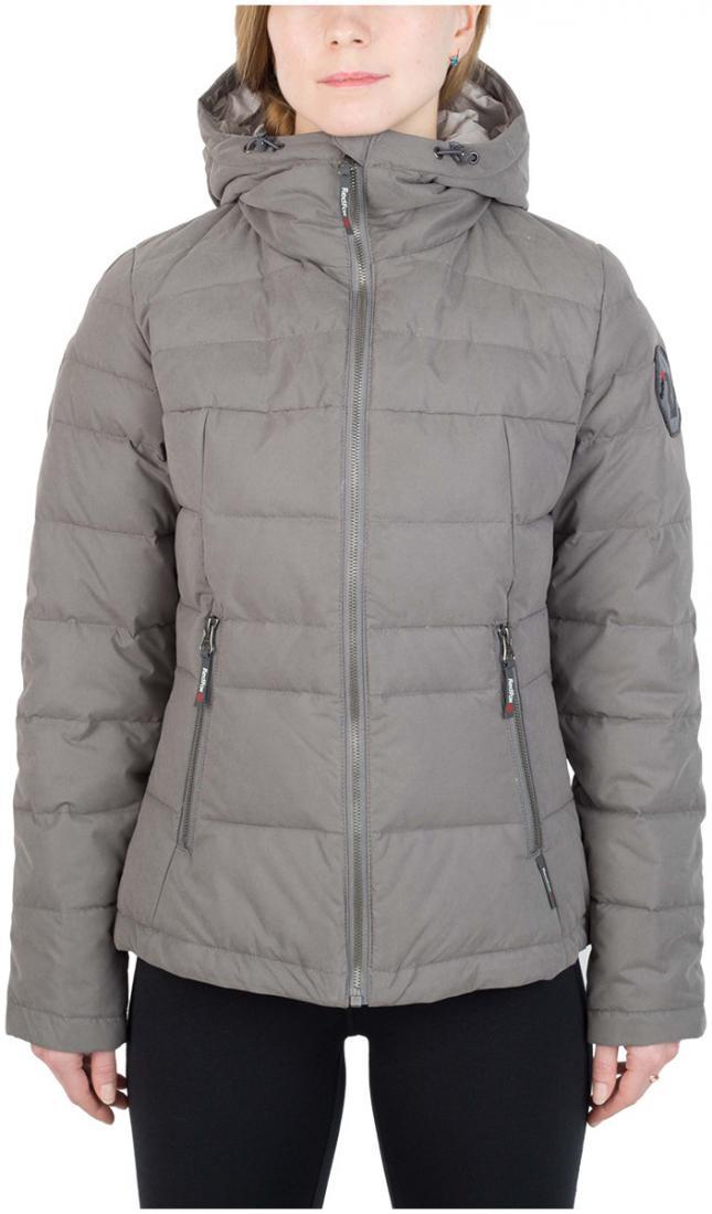 Куртка пуховая Kiana ЖенскаяКуртки<br><br> Пуховая куртка из прочного материала мягкой фактурыс «Peach» эффектом. стильный стеганый дизайн и функциональность деталей позволяют и...<br><br>Цвет: Темно-серый<br>Размер: 52