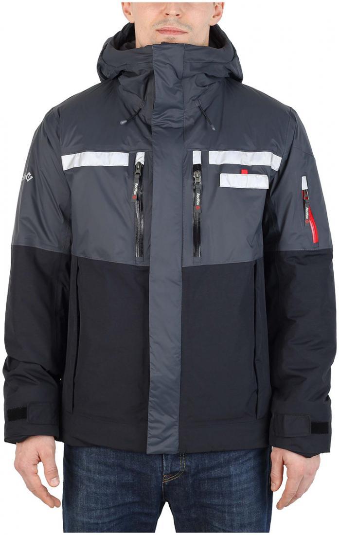 Куртка утепленная HuskyКуртки<br><br><br>Цвет: Темно-серый<br>Размер: 58