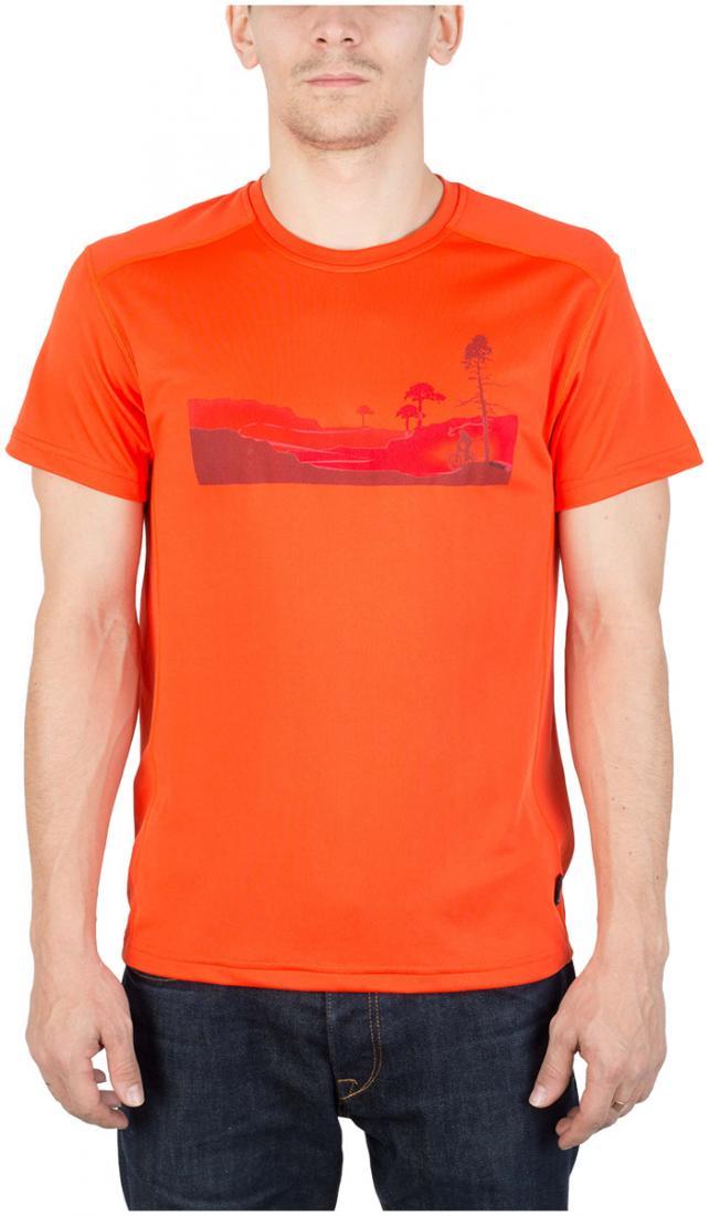 Футболка Ride T МужскаяФутболки, поло<br><br> Легкая и функциональная футболка свободного кроя из материала с высокими влагоотводящими показателями. Может использоваться в качестве базового слоя в холодную погоду или верхнего слоя во время активных занятий спортом.<br><br> Основные характерист...<br><br>Цвет: Оранжевый<br>Размер: 54