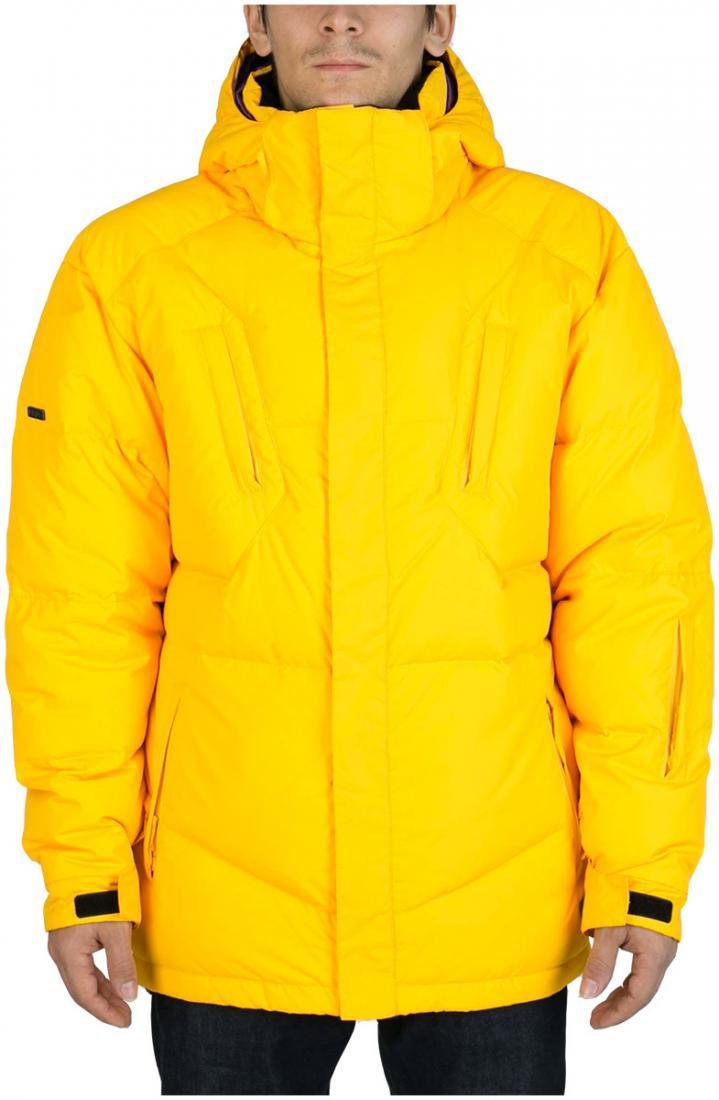 Куртка пуховая Booster IIКуртки<br><br> Комфортный и расслабленный стиль пуховика Booster II снискал любовь многих. Благодаря свободной посадке этот пуховик словно укрывает своего обладателя от холода. Куртка выполнена в четырех цветах от черного до ярко-желтого, а значит любой, даже сам...<br><br>Цвет: Желтый<br>Размер: 50