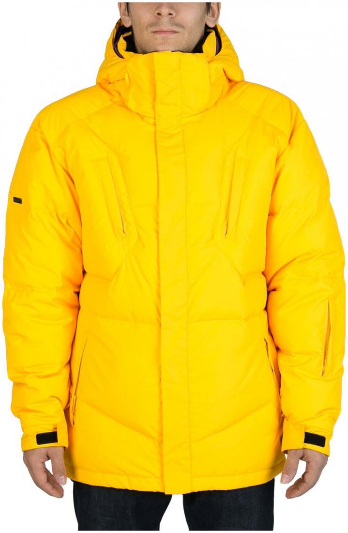 Куртка пуховая Booster IIКуртки<br><br><br>Цвет: Желтый<br>Размер: 50