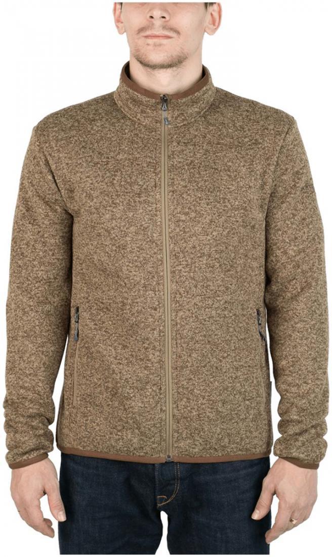 Куртка Tweed III МужскаяКуртки<br><br> Теплая и стильная куртка для холодного временигода, выполненная из флисового материала с эффектом«sweater look». Отлично отводит влагу, сохраняет тепло,легкая и не громоздкая.<br><br><br>основное назначение: Повседневное городскоеисполь...<br><br>Цвет: Хаки<br>Размер: 46