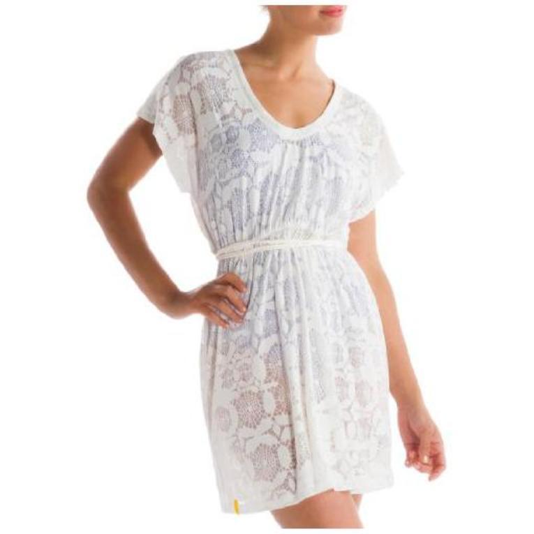 Платье LSW0944 RUMBA 2 DRESSПлатья<br><br><br>Цвет: Белый<br>Размер: M