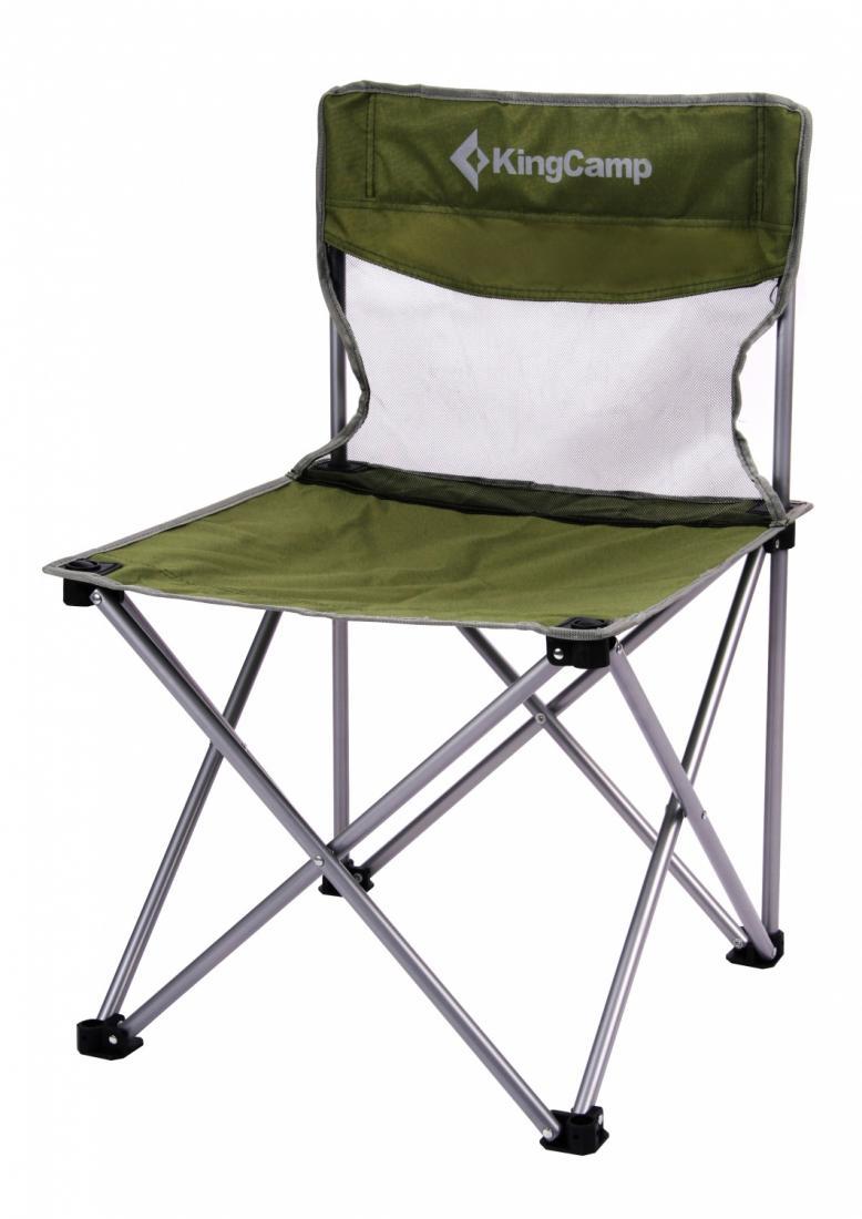 Стул King Camp  3832 скл.сталь Compact chairКемпинговая мебель<br><br><br>Цвет: Зеленый<br>Размер: None