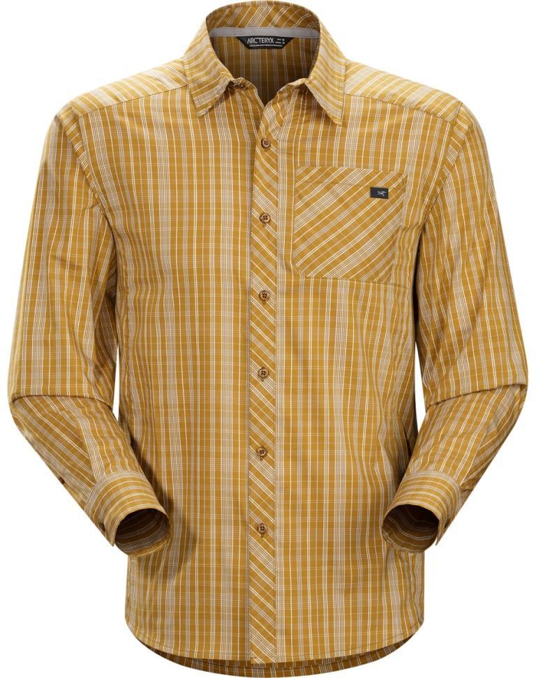Рубашка Peakline Shirt LS муж.Рубашки<br><br><br>Цвет: Коричневый<br>Размер: L