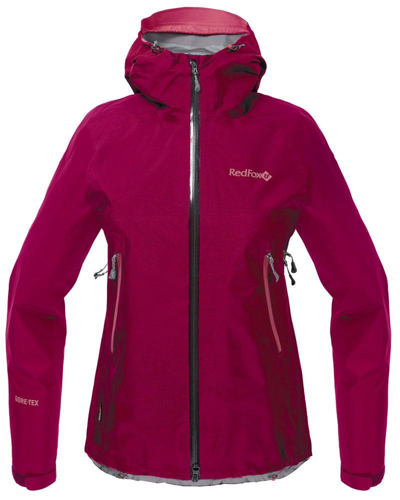 Куртка ветрозащитная Vega GTX III ЖенскаяКуртки<br>Классическая штормовая куртка, выполненная из материала GORE-TEX® Products. Надежно защищает от дождя и ветра, не стесняет движений, удобна для путешествий и активного отдыха.<br><br>назначение: Горные походы, туризм, походы<br>эргоном...<br><br>Цвет: Малиновый<br>Размер: 46