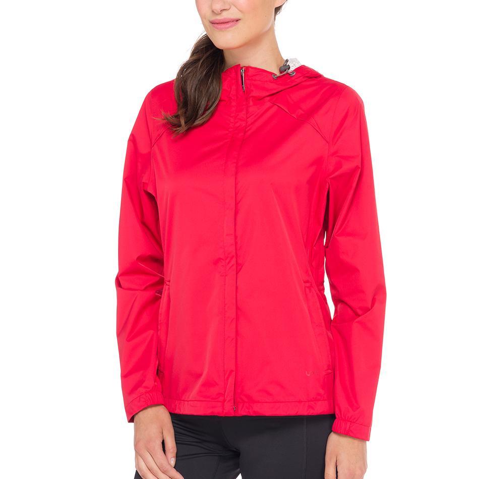 Куртка LUW0282 CUMULUS JACKETКуртки<br><br><br><br> С женской курткой Lole Cumulus Jacket дождь не застанет вас врасплох. Достаточно накинуть капюшон, и непогода не сможет помешать вам наслаждаться прогулкой или путешествием. Модель LU...<br><br>Цвет: Красный<br>Размер: S