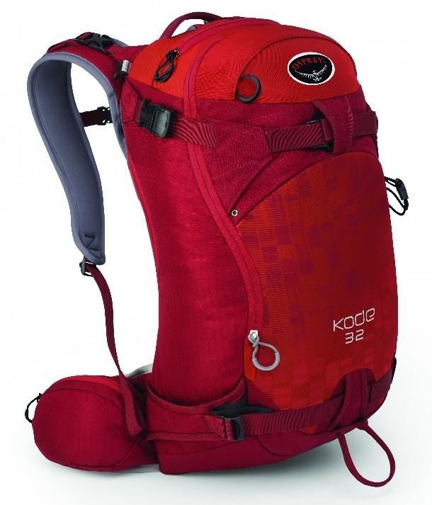 Osprey Рюкзак Kode 32 (M-L, Hoodoo Red, ,)