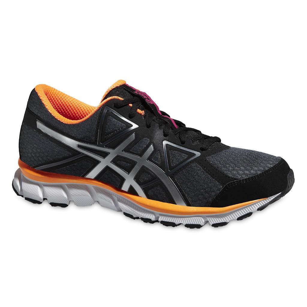 Кроссовки GEL-ATTRACT 3 женскиеБег, Мультиспорт<br><br> ASICS GEL-ATTRACT 3 T4D7N – кроссовки для естественного бега с защитой позвоночника и коленей. Это одна из самых легких женских моделей в коллекции бренда ASICS, вес пары составляет 215 грамм. Носок и пятка изготовлены по технологии ASICS Gel, кото...<br><br>Цвет: Черный<br>Размер: 5