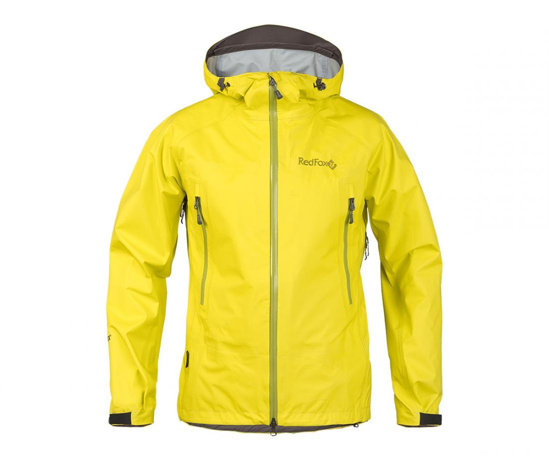 Куртка ветрозащитная Vector GTX II МужскаяКуртки<br><br><br>Цвет: Желтый<br>Размер: 58