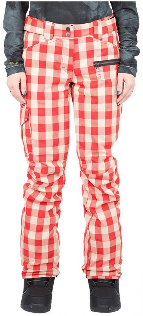 Штаны сноубордические утепленные Norm женскиеБрюки, штаны<br>Женская модель штанов Norm W оснащена зональным утеплением. Она обладают всеми основными характеристиками классических сноубордических ш...<br><br>Цвет: Красный<br>Размер: 42