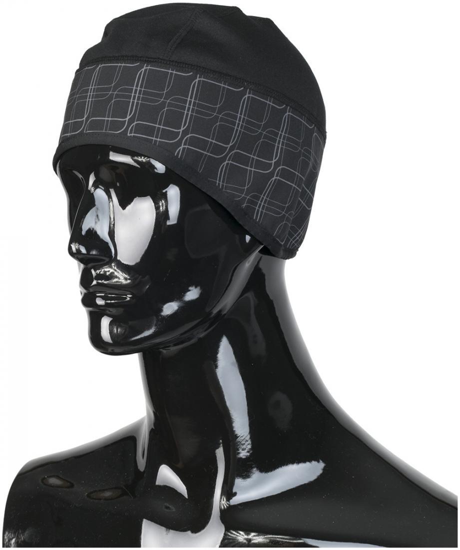 Шапка GLACIER CAPШапки<br>Состав: 95% Полиэстер, 5% Эластан<br><br>Цвет: Черный<br>Размер: L/XL