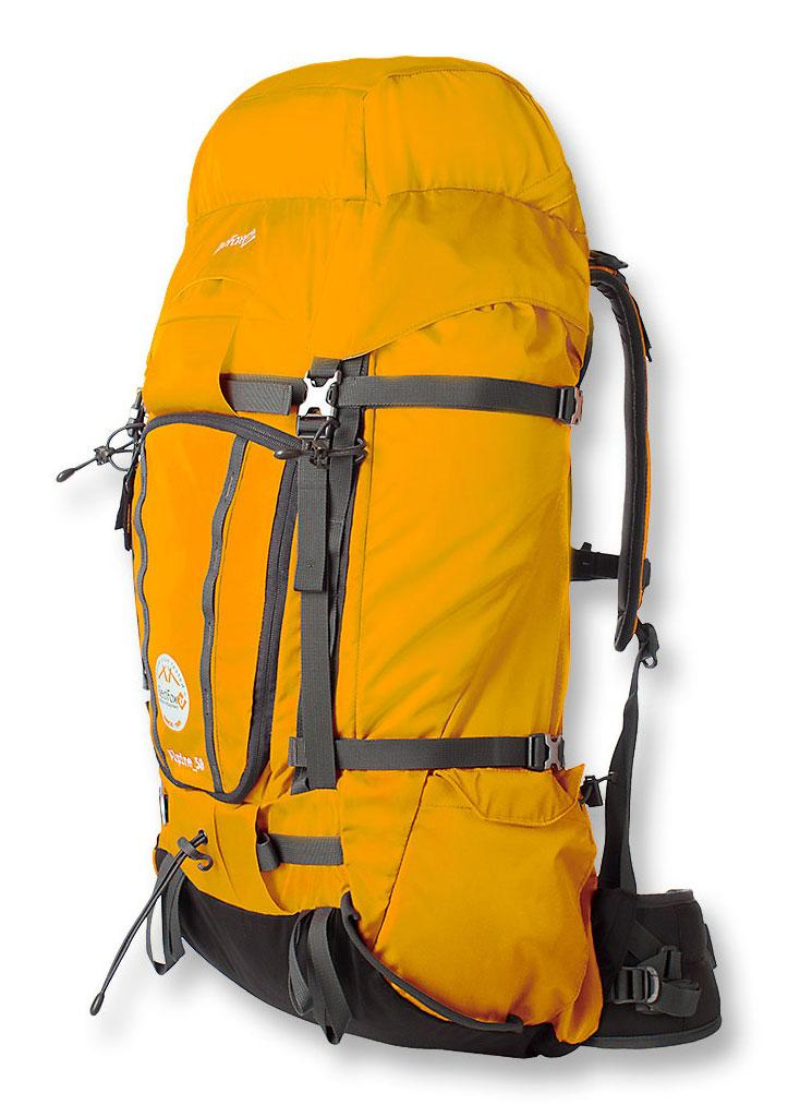 Рюкзак Alpine 50Рюкзаки<br><br><br>Цвет: Желтый<br>Размер: 50 л