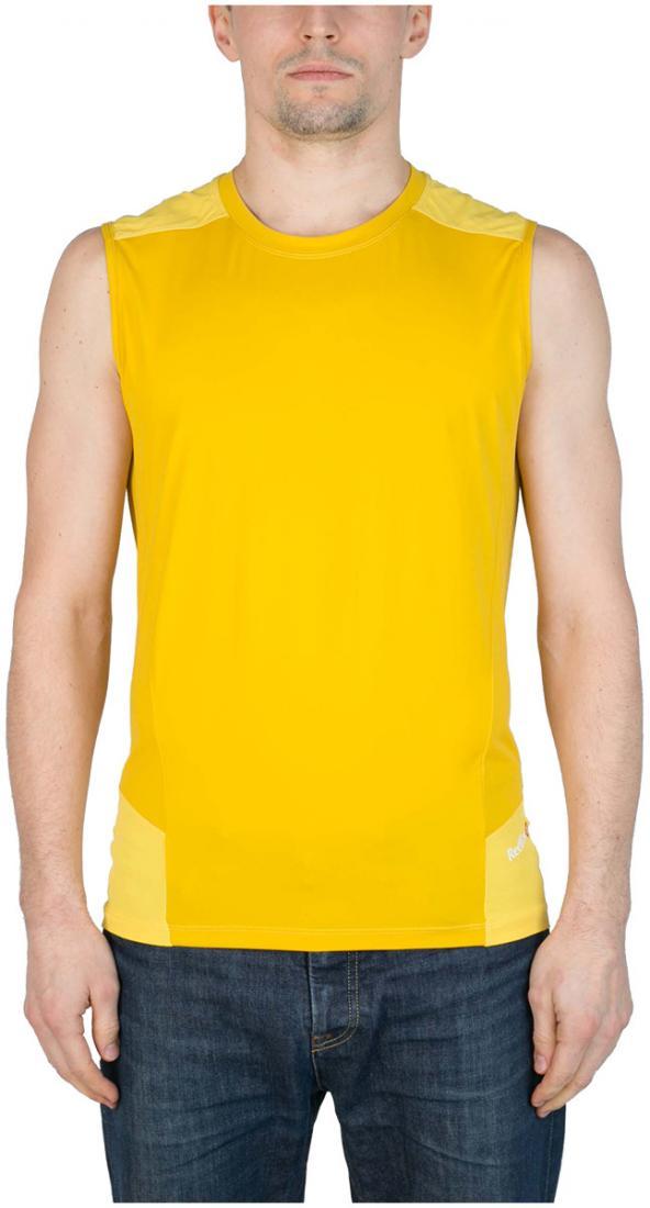 Майка Amplitude МужскаяФутболки, поло<br><br><br>Цвет: Желтый<br>Размер: 56