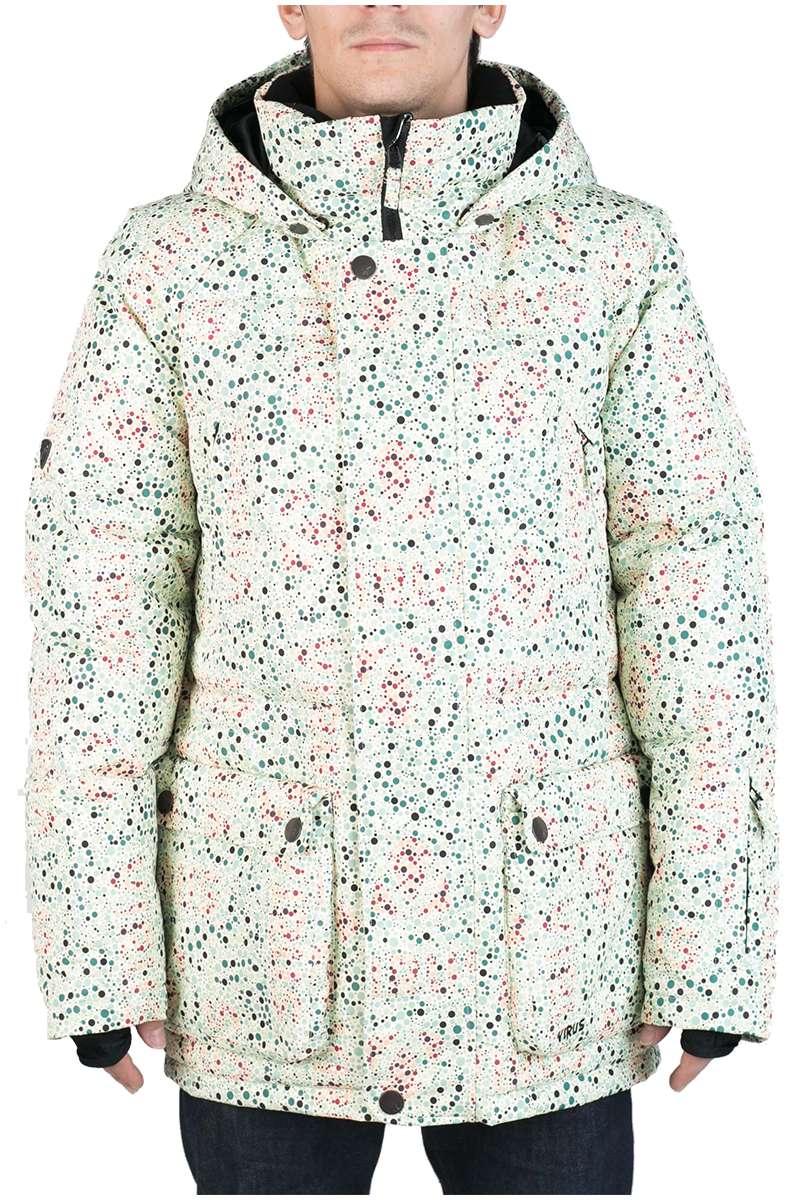 Куртка пуховая PlusКуртки<br><br> Пуховая куртка Plus разработана в лаборатории ViRUS для экстремально низких температур. Комфорт, малый вес и полная свобода движения – вот ...<br><br>Цвет: Белый<br>Размер: 48