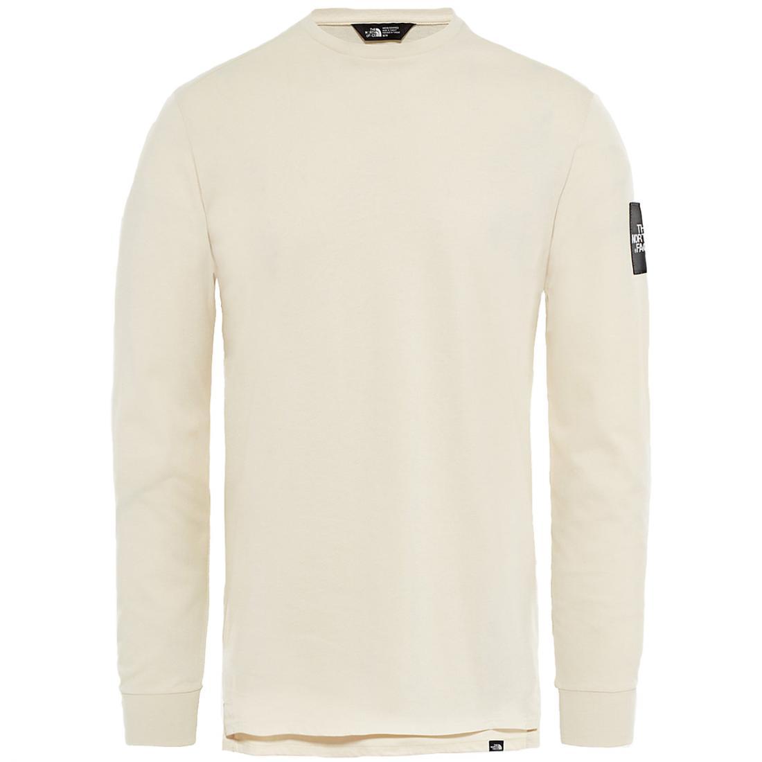 Футболка M L/S FINE 2 TEEФутболки, поло<br><br>Классическая мужская футболка с длинным рукавом The North Face FINE 2 выполнена из натурального хлопка высокого качества. Она мягкая, приятная к телу, отлично садится по фигуре и хорошо сочетается с любой одеждой.<br><br>Характеристики футболки ...