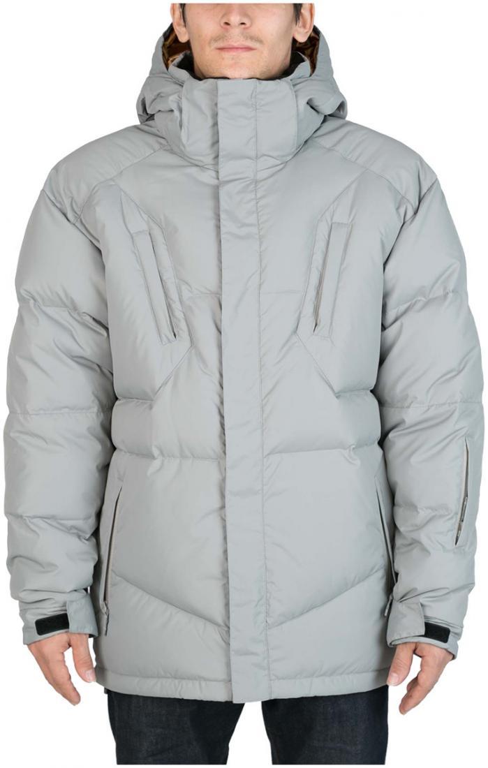 Куртка пуховая Booster IIКуртки<br><br><br>Цвет: Серый<br>Размер: 48