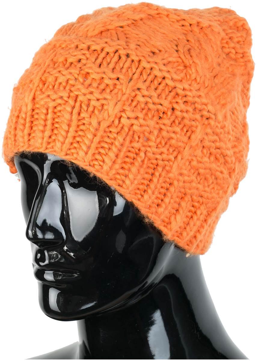 Шапка DollyШапки<br>Состав: 100% акрил.<br><br>Цвет: Оранжевый<br>Размер: None