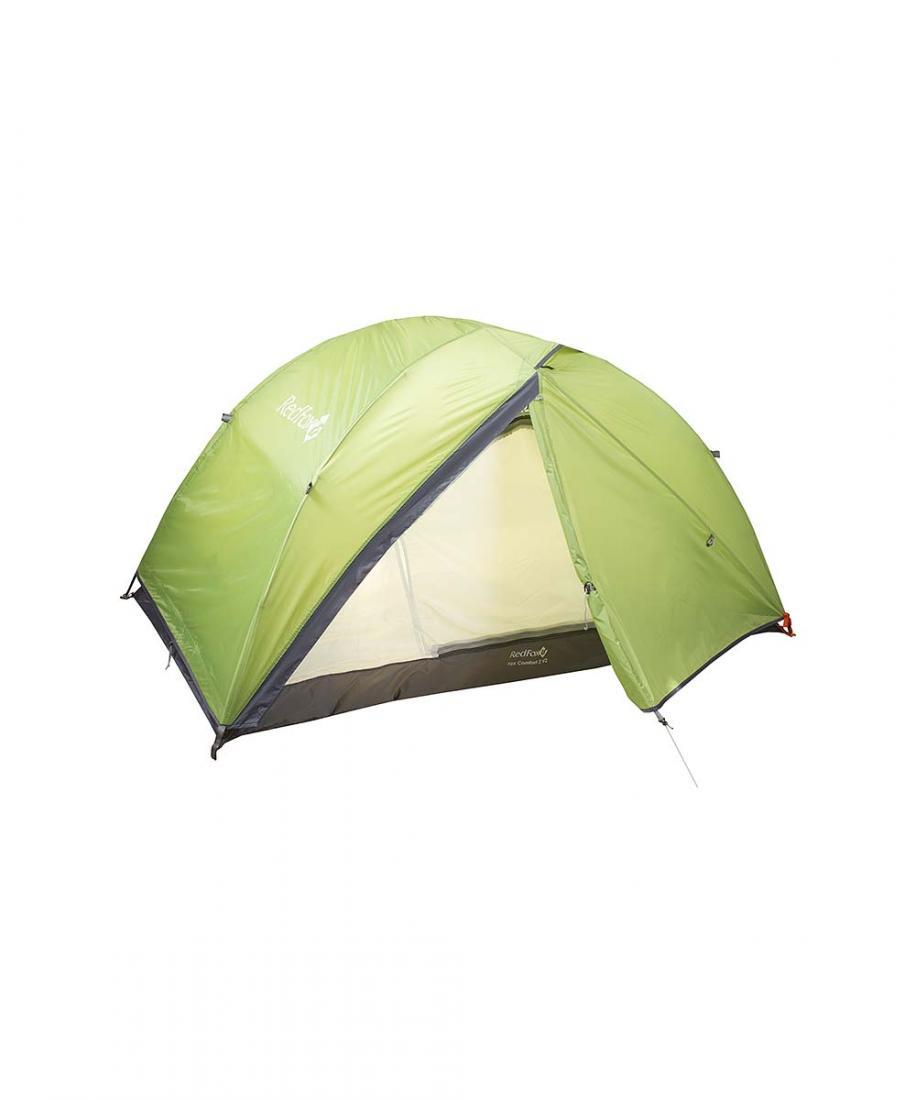Палатка Fox Comfort 2 V2Палатки<br><br> Комфортная двухслойная палатка для активного отдыха и туризма. Это прочная ветроустойчивая палатка. Модель легко устанавливается одним человеком благодаря высокотехнологичной конструкции каркаса DAС. В жаркое время возможно установить внутреннюю па...<br><br>Цвет: Зеленый<br>Размер: None