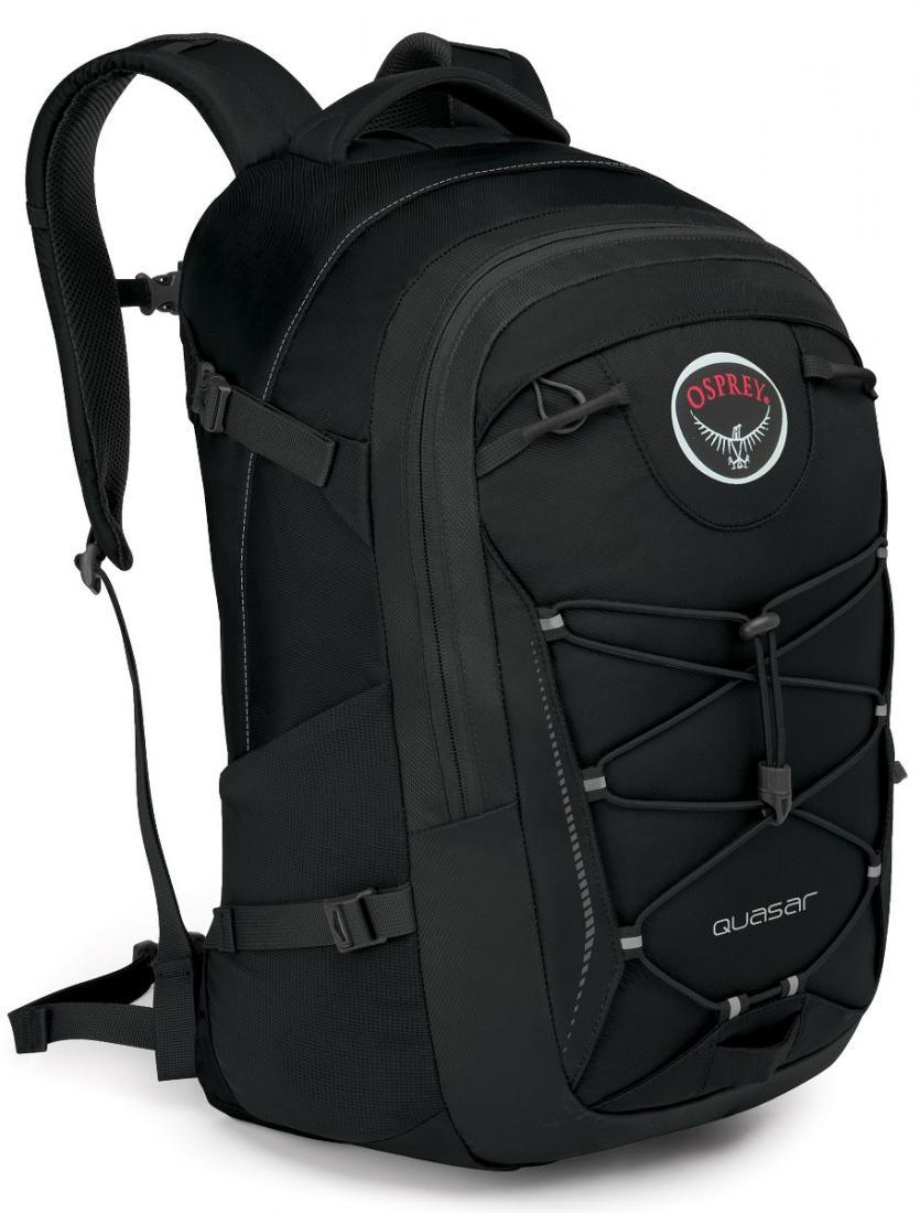 Рюкзак Quasar 28Рюкзаки<br>Обновленный рюкзак городской серии, в разработке которого бесспорно учли многолетний опыт создания рюкзаков Osprey.<br>Quasar 28 - универсальный ...<br><br>Цвет: Черный<br>Размер: 28 л