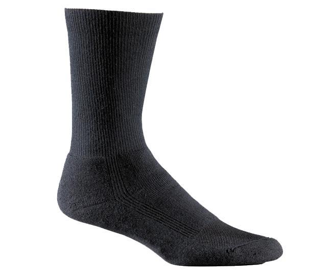 Носки атлет.1308 WICK DRY Triathlon CrewНоски<br>Тонкие высококачественные носки. Волокна coolmax® и технология wick dry® позволяют избежать перегрева и эффективно отводят влагу при интенсивн...<br><br>Цвет: Черный<br>Размер: L