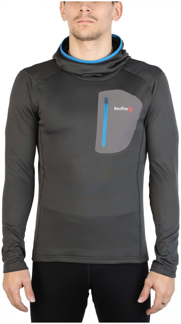 Пуловер Z-Dry Hoody МужскойПуловеры<br><br> Спортивный пуловер, выполненный из эластичного материала с высокими влагоотводящими характеристиками. Идеален в качестве зимнего термобелья или среднего утепляющего слоя.<br><br><br>основное назначение: альпинизм, горные походы<br>бе...<br><br>Цвет: Серый<br>Размер: 48