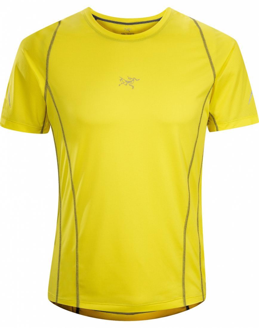 Футболка Sarix SS муж.Футболки, поло<br><br>ДИЗАЙН: Ультралегкая футболка с короткими рукавами, из высококачественной сетчатой ткани, для быстрого бега.<br><br><br>НАЗНАЧЕНИЕ: Трейл-р...<br><br>Цвет: Желтый<br>Размер: S