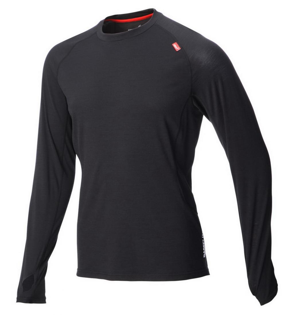 Inov-8 Футболка Base elite™ 150 merino LS M (S, Red/Blue, ,) inov 8 футболка base elite ssz m xs phantom black
