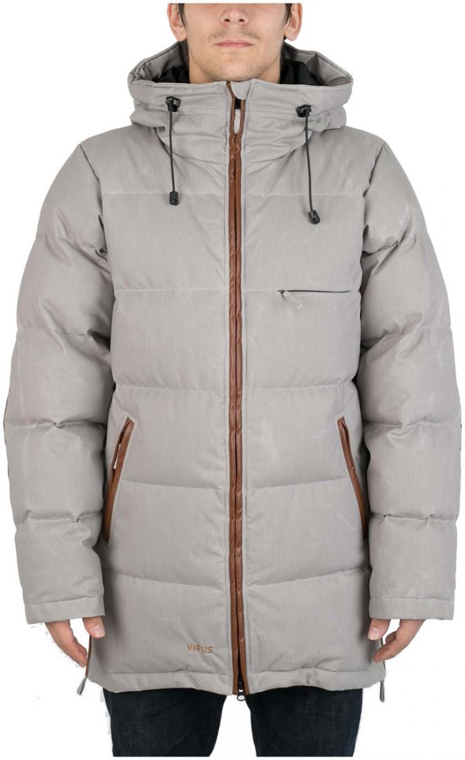 Куртка пуховая EclipseКуртки<br><br>Пуховая куртка с минималистичным дизайном, изготовлена из денима трех цветов, в черном и сером вариантах с ваксовым покрытием. eclipse буде...<br><br>Цвет: Серый<br>Размер: 54