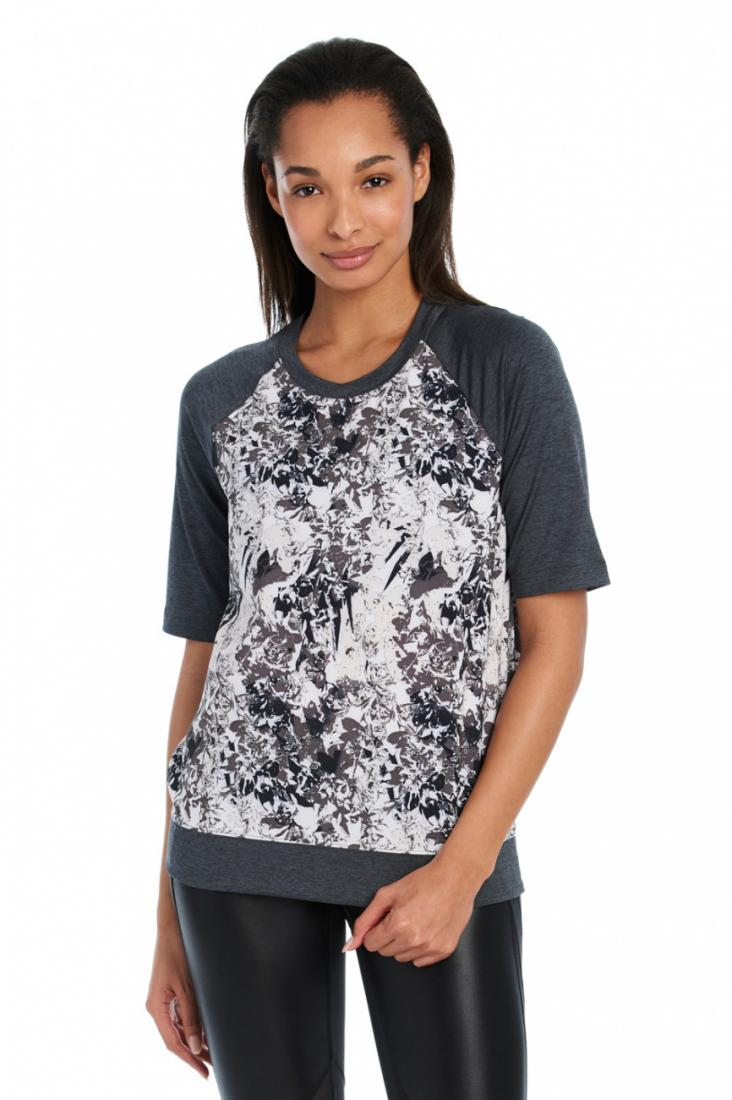Lole Топ LSW2199 ZAIDA TOP (XL, DARK CHARCOAL FLEURS, , ,)
