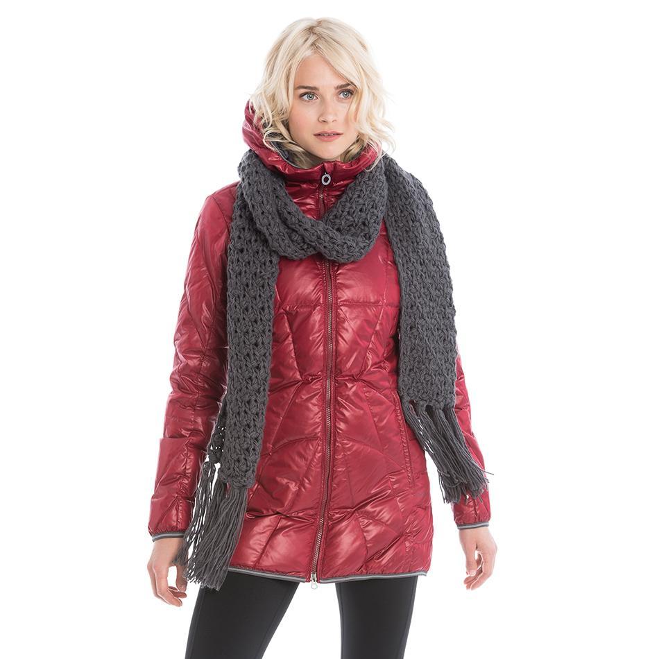 Куртка LUW0311 GISELE JACKETКуртки<br>Тонкая стеганая куртка из ветрозащитной, водостойкой суперлегкой тканиидеально подходит дляпутешествий.<br><br>Особенности:<br><br>Стеганый<br>Центральная молния<br>Воротник можно убрать вкапюшон<br>Трико...<br><br>Цвет: Красный<br>Размер: M
