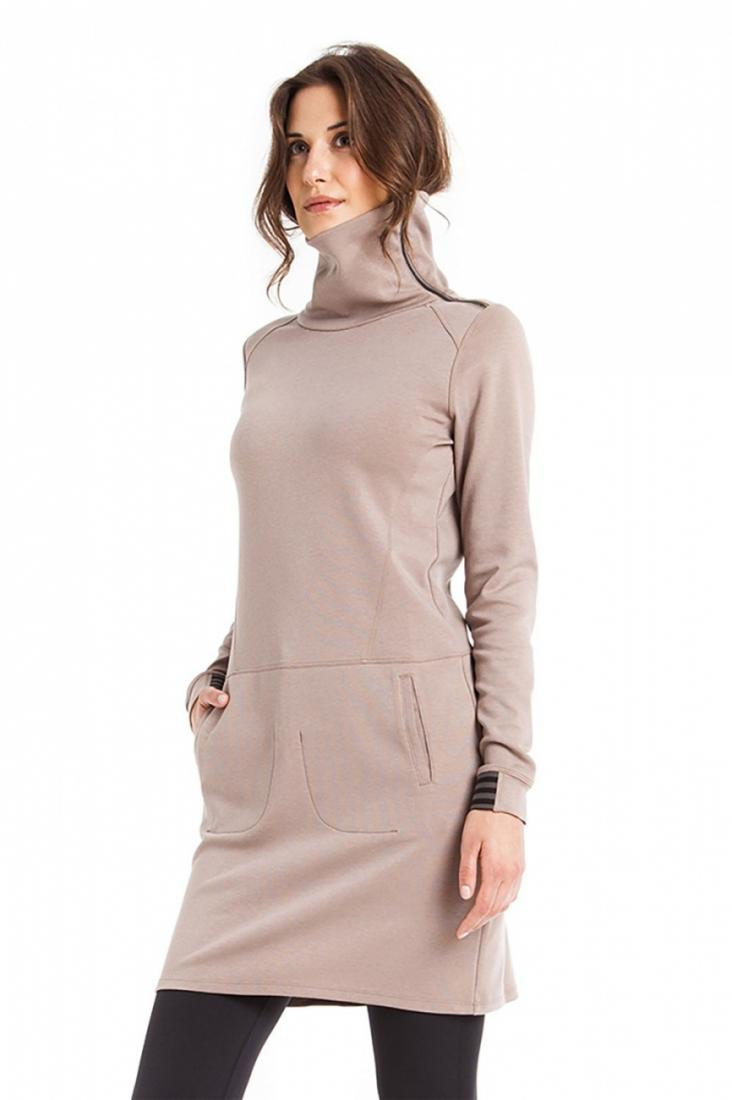 Платье LSW1513 TANGO DRESSПлатья<br>Платье с длинным рукавом из эластичной тканистрейч.<br><br>Воротник-черепахас застежкой-молнией на одной стороне<br>2 прорезных кармана спереди<br>На рукавах манжеты с резинкой<br>Длина 36 дюймов<br>Состав ткани:...<br><br>Цвет: Серый<br>Размер: L