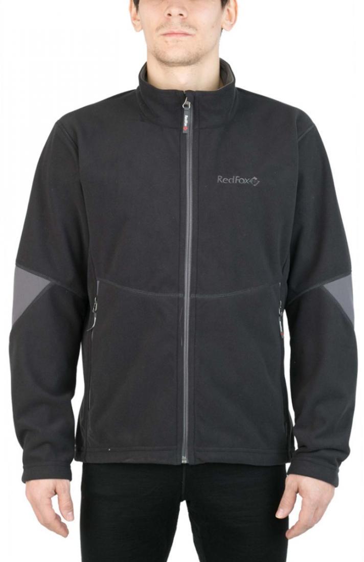Куртка Defender III МужскаяКуртки<br><br> Стильная и надежна куртка для защиты от холода и ветра при занятиях спортом, активном отдыхе и любых видах путешествий. Обеспечивает свободу движений, тепло и комфорт, может использоваться в качестве наружного слоя в холодную и ветреную погоду.<br>&lt;/...<br><br>Цвет: Черный<br>Размер: 56