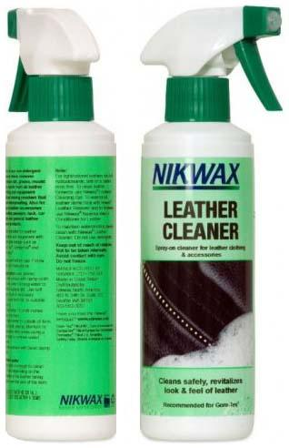 Средство для чистки изделий из кожи Leather Cleaner от Nikwax