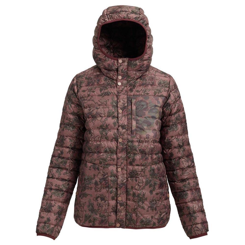 Куртка WB EVRGRN DN HD INSКуртки<br><br>Женская сноубордическая куртка Burton Evergreen Hooded с наполнителем из утиного пуха, капюшоном и высоким воротом надежно защищает от холода и ветра и позволяет долгое время находиться на склоне даже в сильные морозы. Водоотталкивающая пропитка DWR...