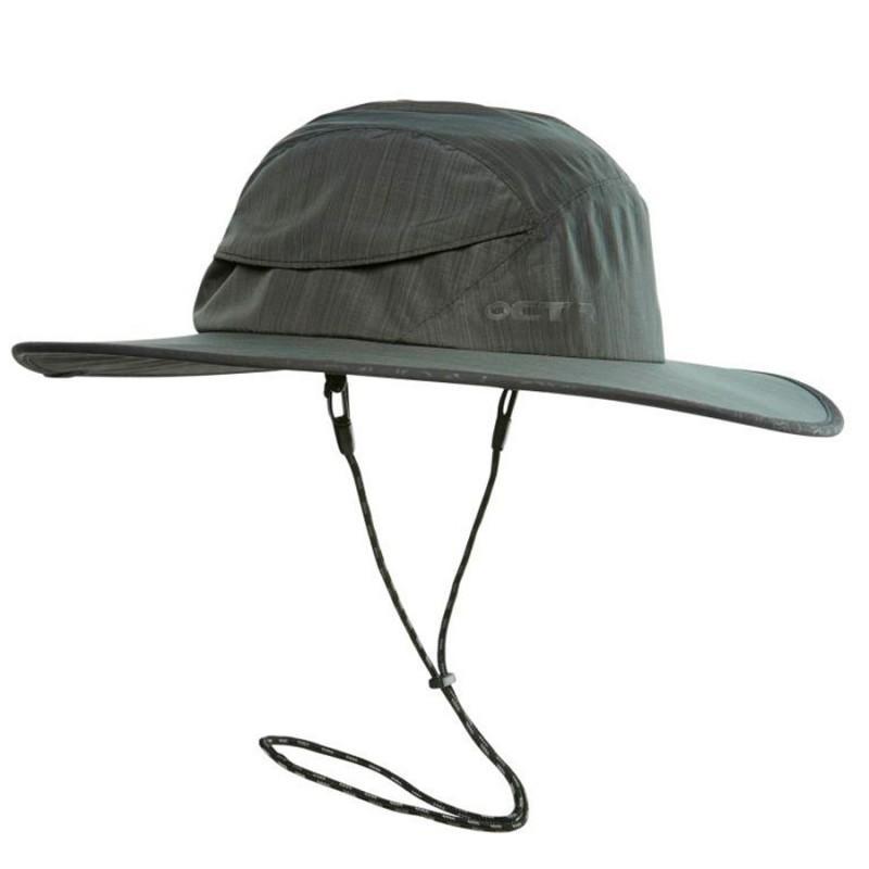 Панама Chaos  Stratus SombreroПанамы<br><br> В путешествии, в походе или в длительной прогулке сложно обойтись без удобной панамы, такой как Chaos Stratus Sombrero. Эта широкополая шляпа служит отличной защитой не только от обжигающих солнечных лучей, но и от дождя.<br><br><br> Особенност...<br><br>Цвет: Темно-серый<br>Размер: S-M