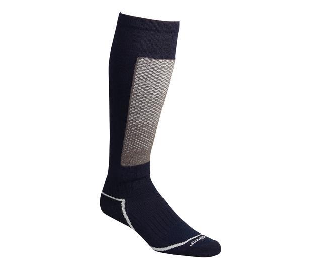 Носки лыжные 5141 MammothНоски<br><br> Изготовленные с применением технологии Thermolite®, эти носки создают мягкую поддержку ноги и эффективно отводят влагу, сохраняя ноги в ком...<br><br>Цвет: Темно-серый<br>Размер: S