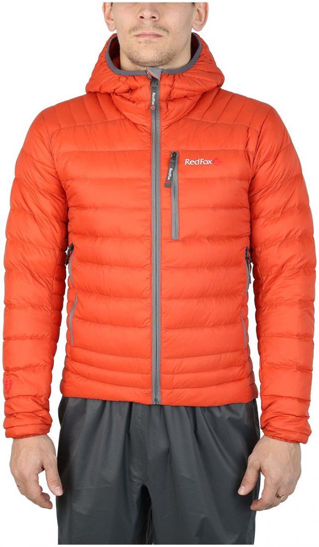 Куртка утепленная Quasar МужскаяКуртки<br><br> Сверхлегкая и компактная куртка, выполнена сприменением композитного утеплителя PrimaLoft® DownBlend Silver, в равной степени рассчитана на исп...<br><br>Цвет: Оранжевый<br>Размер: 48