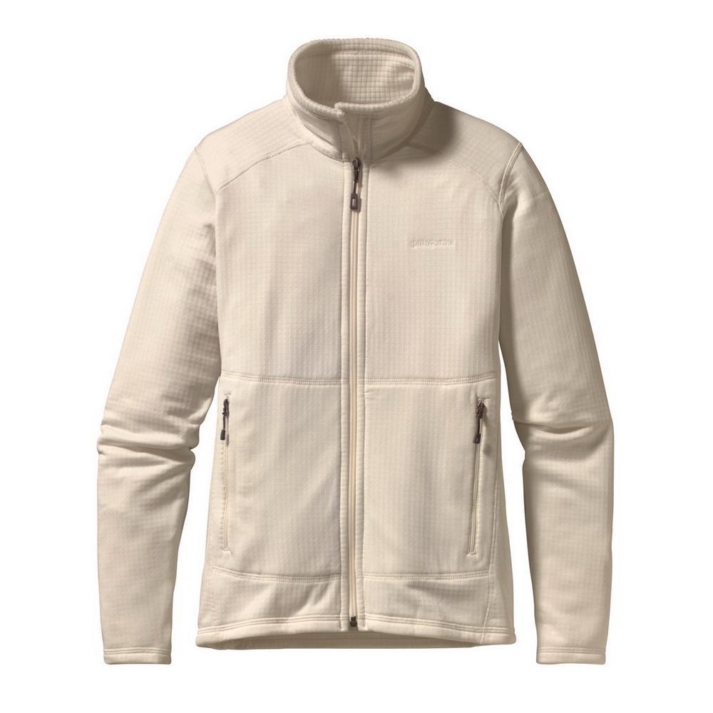 Куртка 40136 R1 FULL-ZIP жен.Куртки<br><br>Женская куртка Patagonia R1 FULL-ZIP изготовлена из мягкого и теплого флиса и может надеваться как отдельно, так и в качестве дополнительного уте...<br><br>Цвет: Бежевый<br>Размер: M