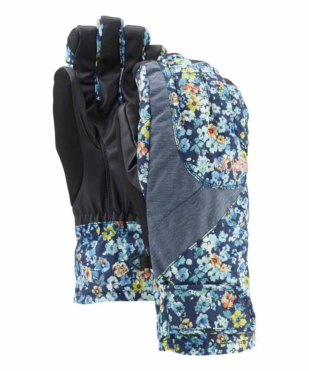 Burton Перчатки горнолыжные WB APPROACH GLV EU Черный burton брюки wb skyline pt женские горнолыжные хаки
