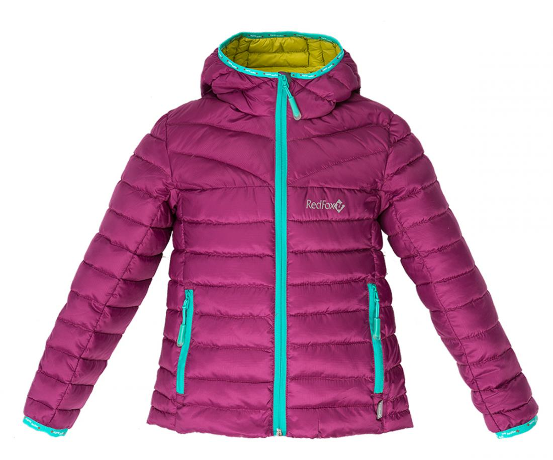 Куртка пуховая Air BabyКуртки<br>Сверхлегкий пуховый свитер с продуманными деталями для защиты от непогоды: облегающий капюшон с окантовкой, ветрозащитная планка, комфорт...<br><br>Цвет: Фиолетовый<br>Размер: 104