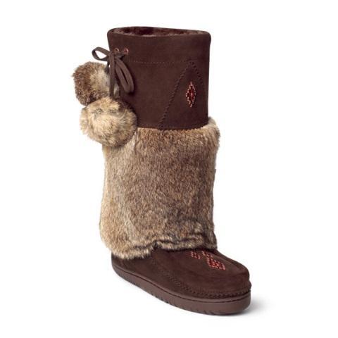 Manitobah Унты Snowy Owl Mukluk женск (5, Chocolate/Коричневый, , ,) унты centro унты