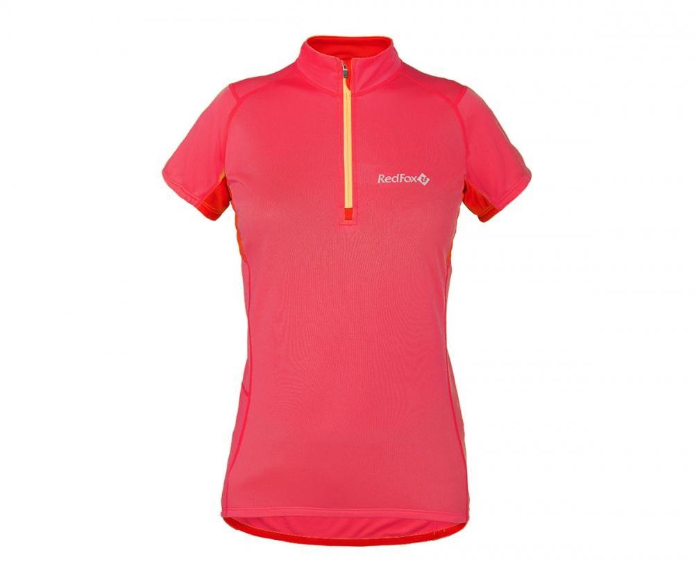 Футболка Trail T SS ЖенскаяФутболки, поло<br><br> Легкая и функциональная футболка с коротким рукавом из материала с высокими влагоотводящими показателями. Может использоваться в качестве базового слоя в холодную погоду или верхнего слоя во время активных занятий спортом.<br><br><br>основно...<br><br>Цвет: Красный<br>Размер: 48