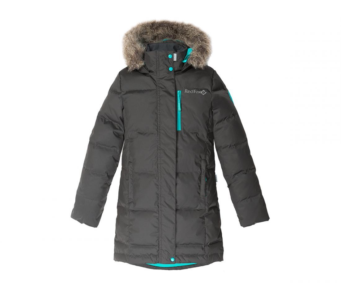 Пальто пуховое Jane II ДетскоеПальто<br><br><br>Цвет: Черный<br>Размер: 146