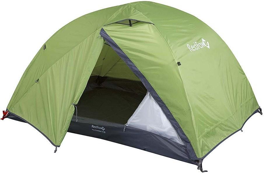 Red Fox Палатка Fox Comfort 3 V2 (, 6100/зеленый, , , SS17)