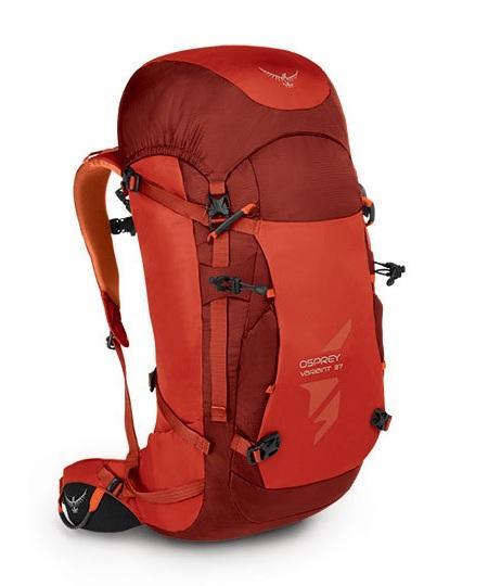 Рюкзак Variant 37Рюкзаки<br>Надежный зимний рюкзак для альпинистских восхождений, с которым можно отправиться на маршрут по глубокому снегу, на ледопады и ледяные разломы. Предполагающий переноску тяжелого груза, он имеет встроенный периферийный каркас с прессованной задней панел...<br><br>Цвет: Светло-красный<br>Размер: 37 л
