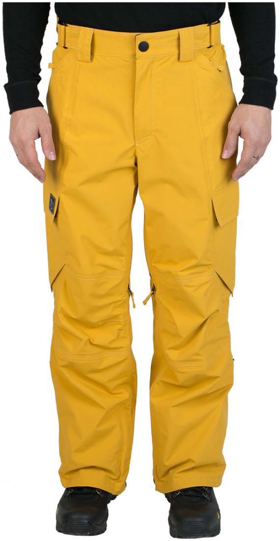 Штаны сноуб.MarkerБрюки, штаны<br><br>По многочисленным просьбам - широкие штаны в фирменном стиле компании, сочетающем в себе швы без внешней отстрочки, с утилитарными деталями. Прочная износоустойчивая ткань спокойных тонов позволит подобрать сочетание к любой курке. Marker - идеальны...<br><br>Цвет: Янтарный<br>Размер: 48