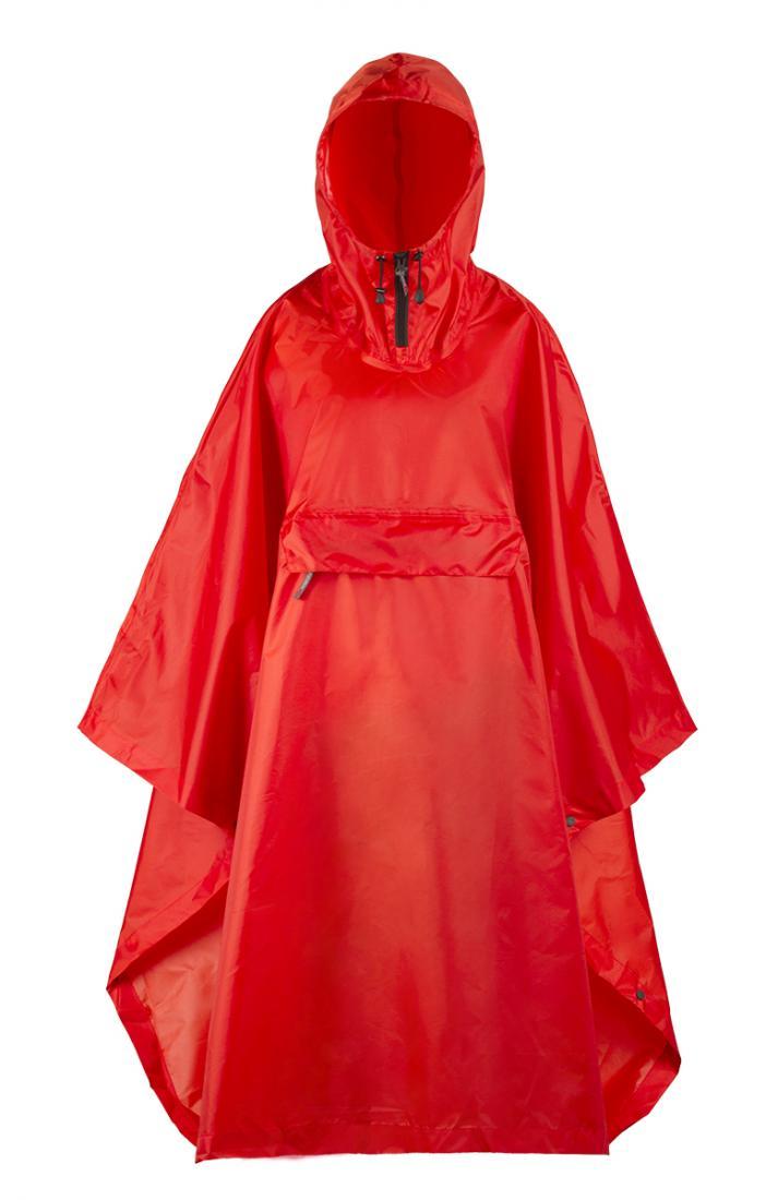 Накидка Poncho PlusАксессуары<br><br><br>Цвет: Красный<br>Размер: None